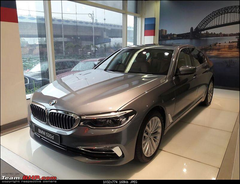 The next-gen BMW 5-Series (G30). EDIT: Launched at Rs. 49.90 lakh-img_9177.jpg