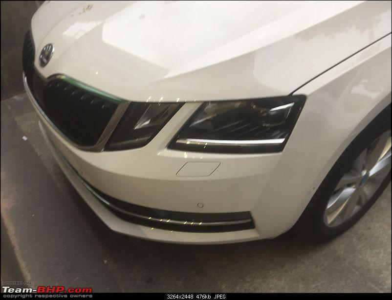 2017 Skoda Octavia facelift spotted testing in India. EDIT: Launched at Rs. 15.49 lakh-img_5167.jpg