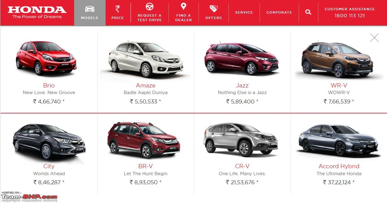 Honda To Discontinue Mobilio In India Edit Removed From Honda S