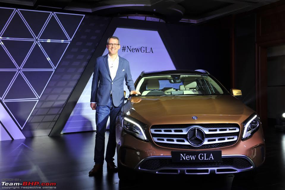 2017 Mercedes-Benz GLA facelift launched at Rs  30 65 lakh