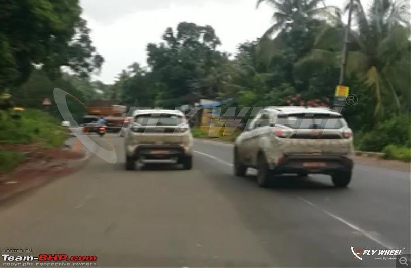 Tata's compact SUV, the Nexon. EDIT: Launched at Rs. 5.85 lakhs-tatanexonspiedinkerala.jpg