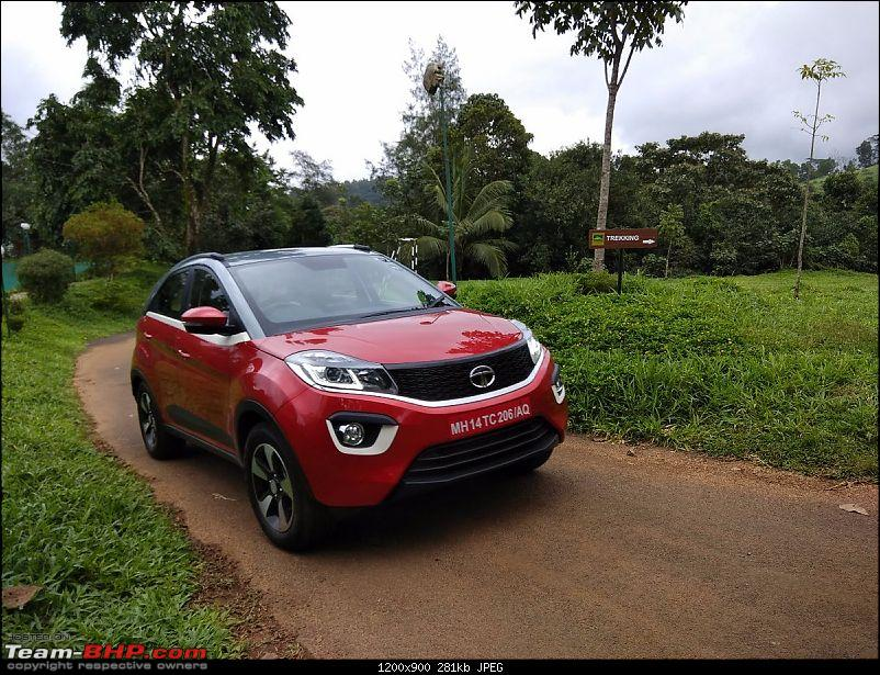 Tata's compact SUV, the Nexon. EDIT: Launched at Rs. 5.85 lakhs-img_0122.jpg