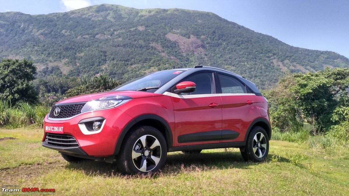 Tata S Compact Suv The Nexon Edit Launched At Rs Lakhs