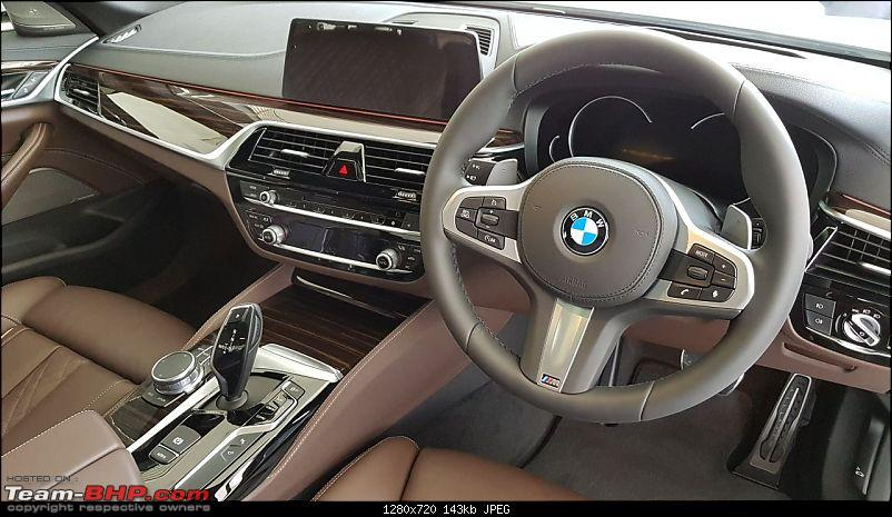 The next-gen BMW 5-Series (G30). EDIT: Launched at Rs. 49.90 lakh-1.jpeg