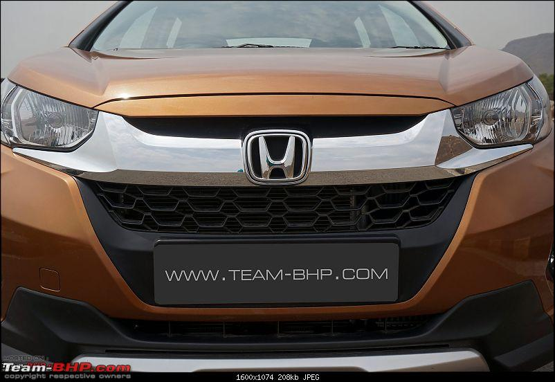 Honda Cars might collaborate with its 2-wheeler dealers-2017hondawrv14.jpg