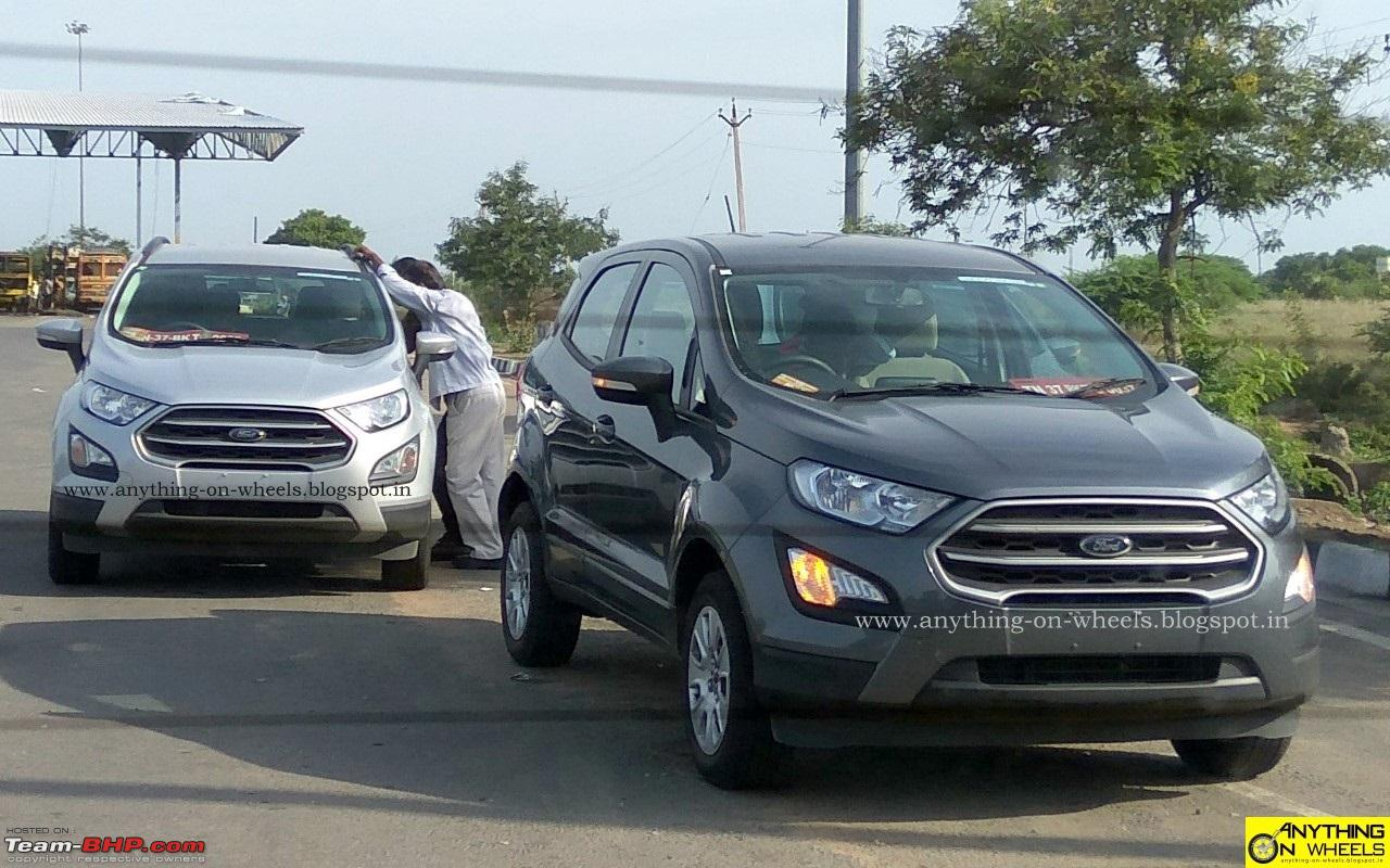 The 2017 ford ecosport facelift caught testing in india 201708_ford ecosport facelift