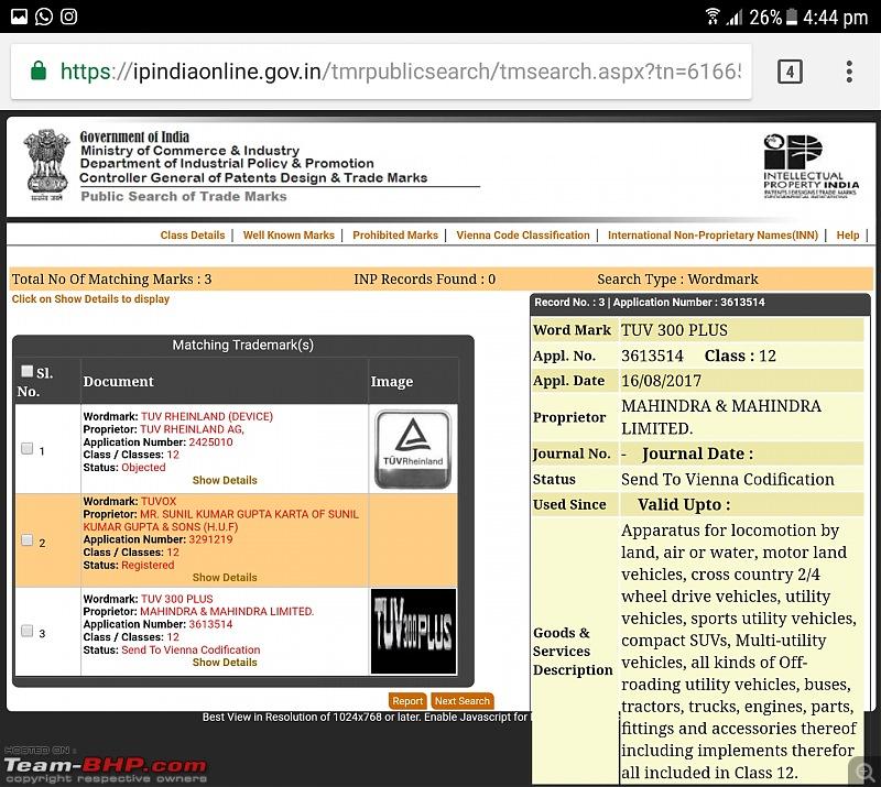 The Mahindra TUV300 Plus. EDIT: Selective deliveries started-screenshot_20170817164412.jpg