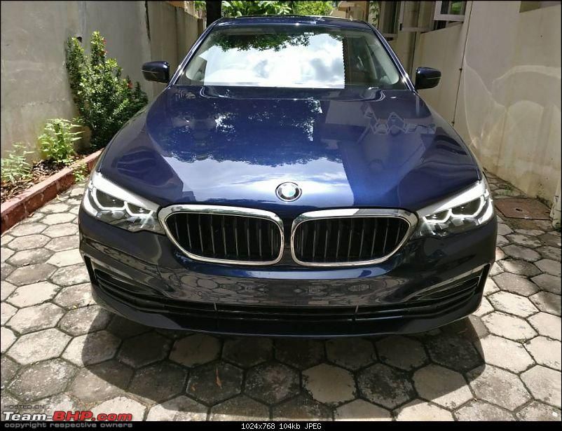 The next-gen BMW 5-Series (G30). EDIT: Launched at Rs. 49.90 lakh-1503130399421.jpg