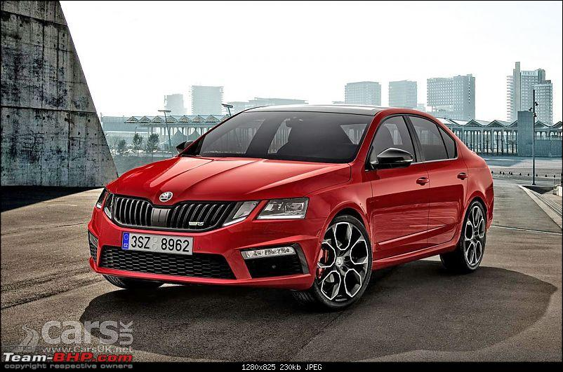 Scoop! Skoda Octavia vRS spotted in Mumbai. EDIT: Launched at 24.62 lakhs-skodaoctabiavrs245first.jpg