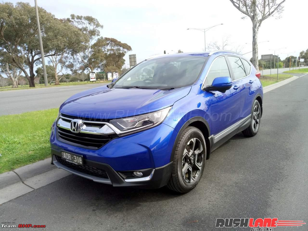 rumour honda to bring new gen cr v to india in 2018. Black Bedroom Furniture Sets. Home Design Ideas