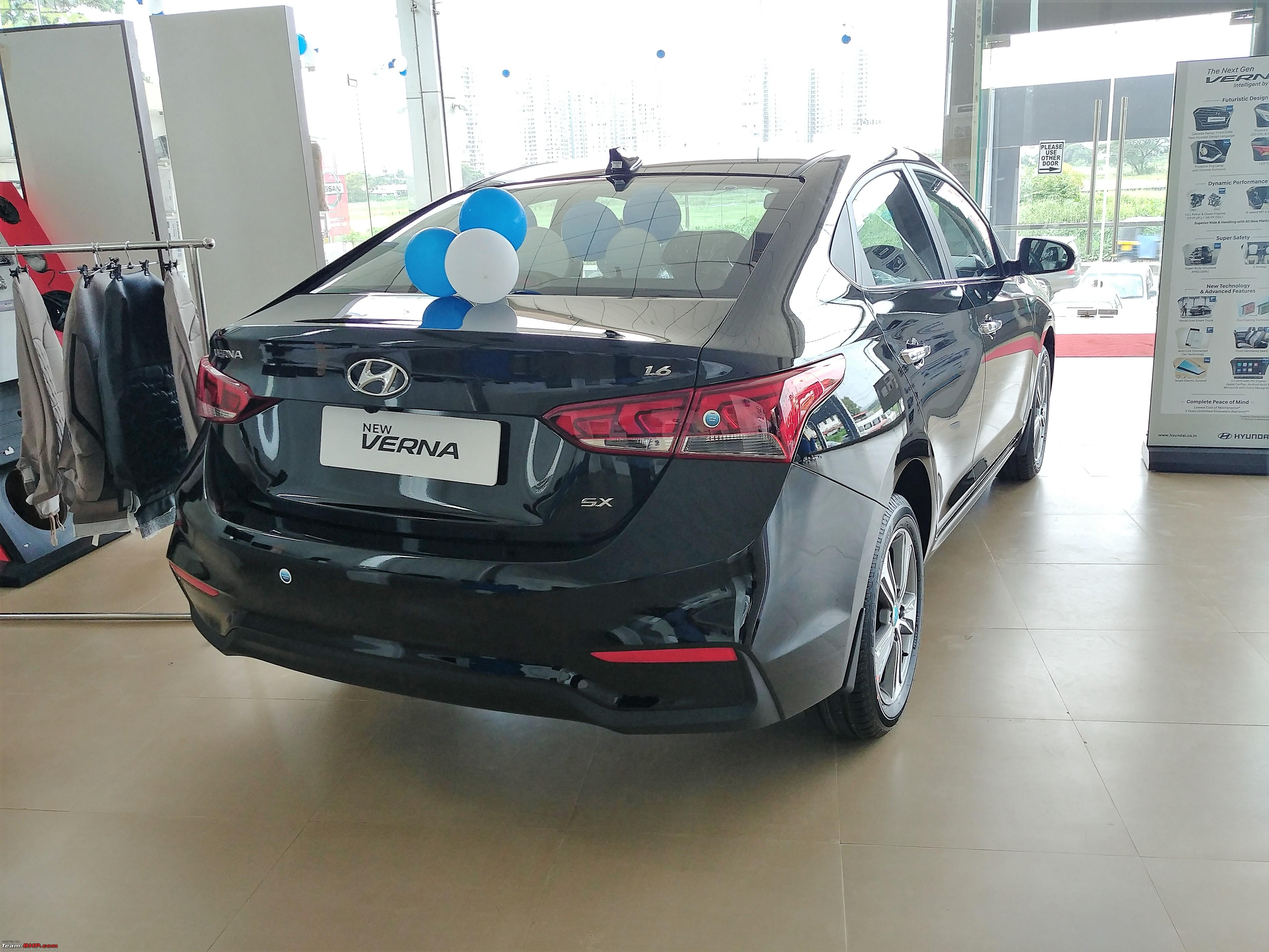 Hyundai creta price starts from 8 59 lakhs launched in india - The 2017 Hyundai Verna Launched At 8 Lakhs Ex Showroom Delhi 1