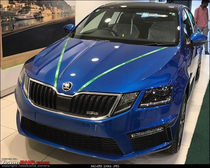 Scoop! Skoda Octavia vRS spotted in Mumbai. EDIT: Launched at 24.62 lakhs-vrs1.jpg