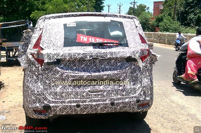 New Mahindra MPV caught testing in Chennai-mahindra_u321rear2.jpg