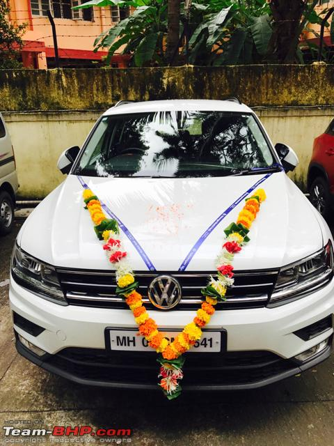 Volkswagen imports the Tiguan. EDIT: Launched at Rs. 27 ...