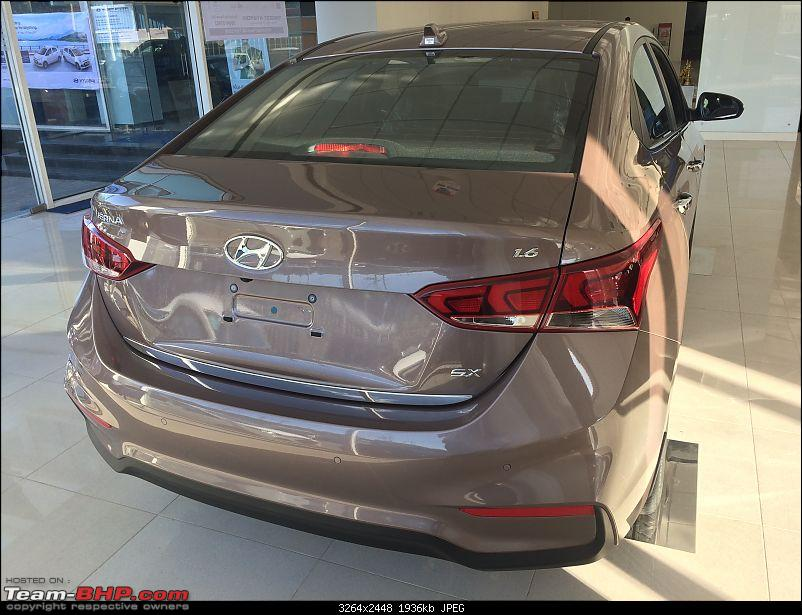 The 2017 Hyundai Verna. Launched at 8 lakhs, ex-showroom Delhi-img_8677.jpg