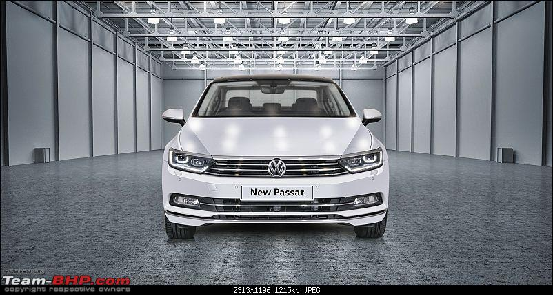 2017 VW Passat 2.0 TDI spotted in India. EDIT: Launched at 30 lakhs-passatpr.jpg