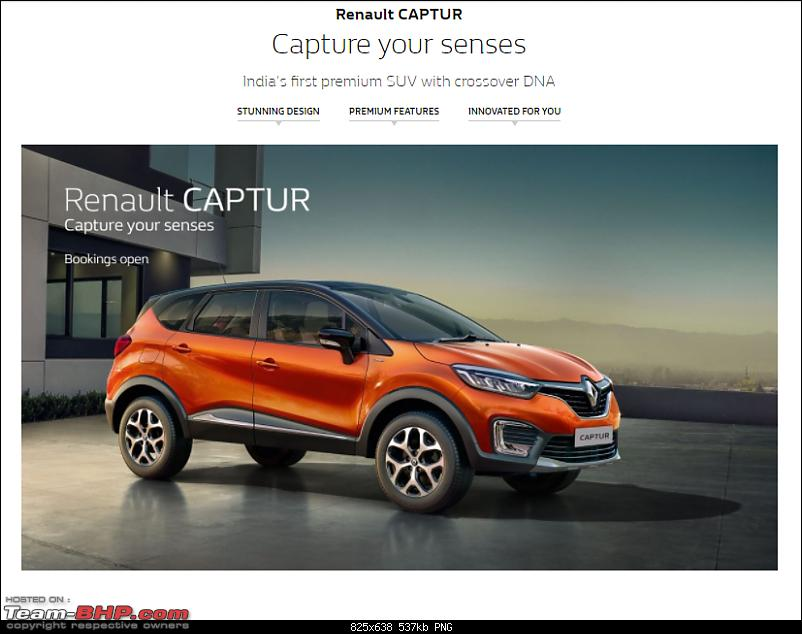 The Renault Captur SUV. EDIT: Launched @ Rs 9.99 lakhs-1.png