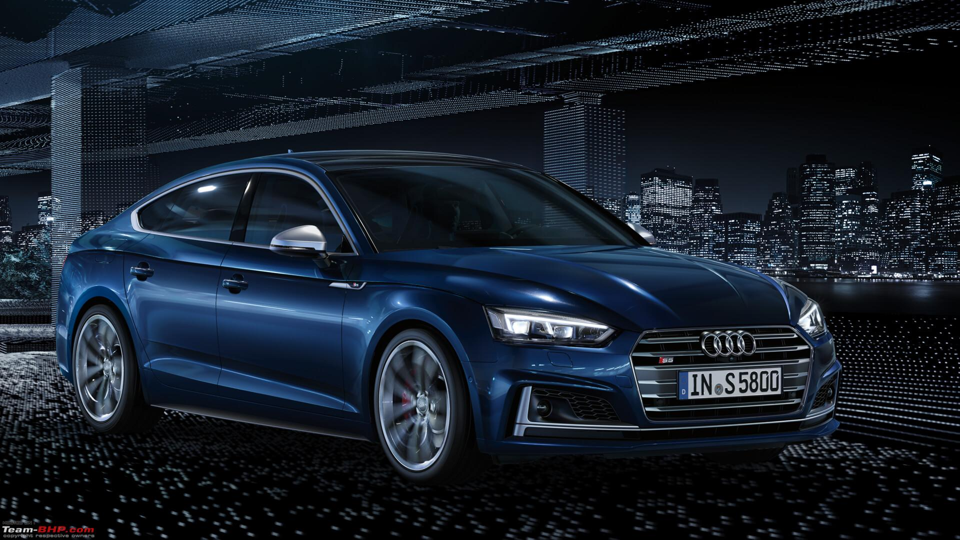 audi launches the a5 range at prices between rs 54 70 lakhs team bhp. Black Bedroom Furniture Sets. Home Design Ideas
