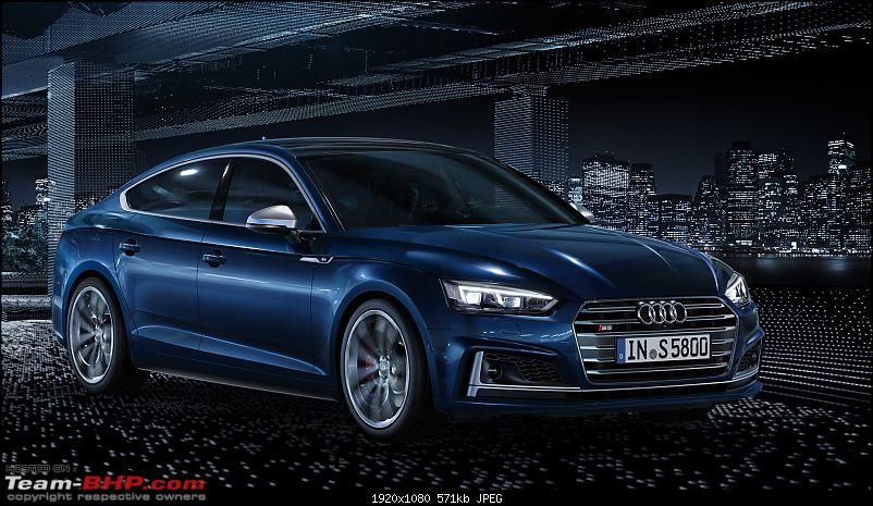 Audi launches the A5 range at prices between Rs 54 - 70 lakhs-alllnewaudis5.jpg