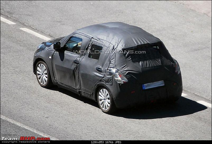 Spyshots: 2010-2011 Maruti Suzuki Swift 2. EDIT: More pics on pg 8 & pg 16!-3031230.jpg