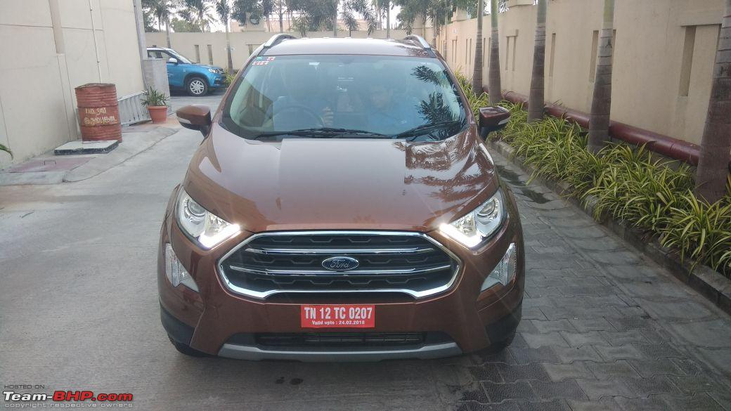 The  Ford Ecosport Facelift Caught Testing In India Edit Now Launched At Rs