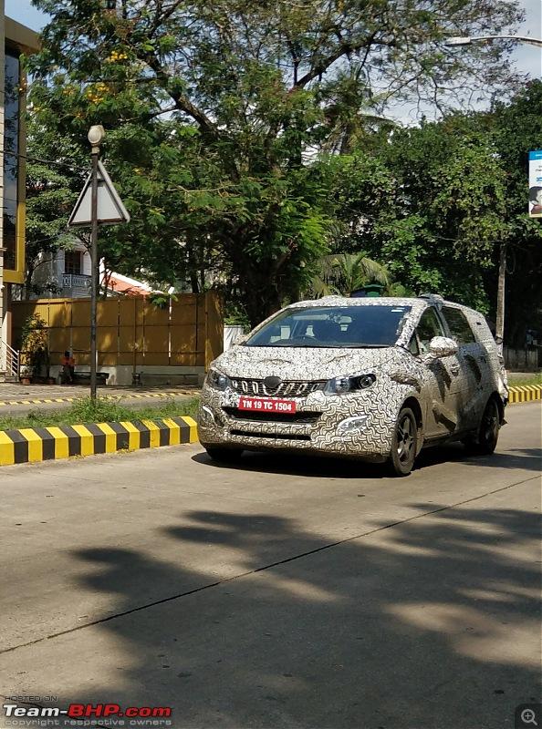 New Mahindra MPV caught testing in Chennai-1.jpg