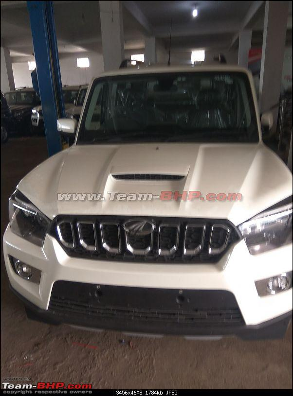 Mahindra Scorpio facelift spotted testing. EDIT: Launched at Rs. 9.97 lakhs-img_20171108_132133.jpg
