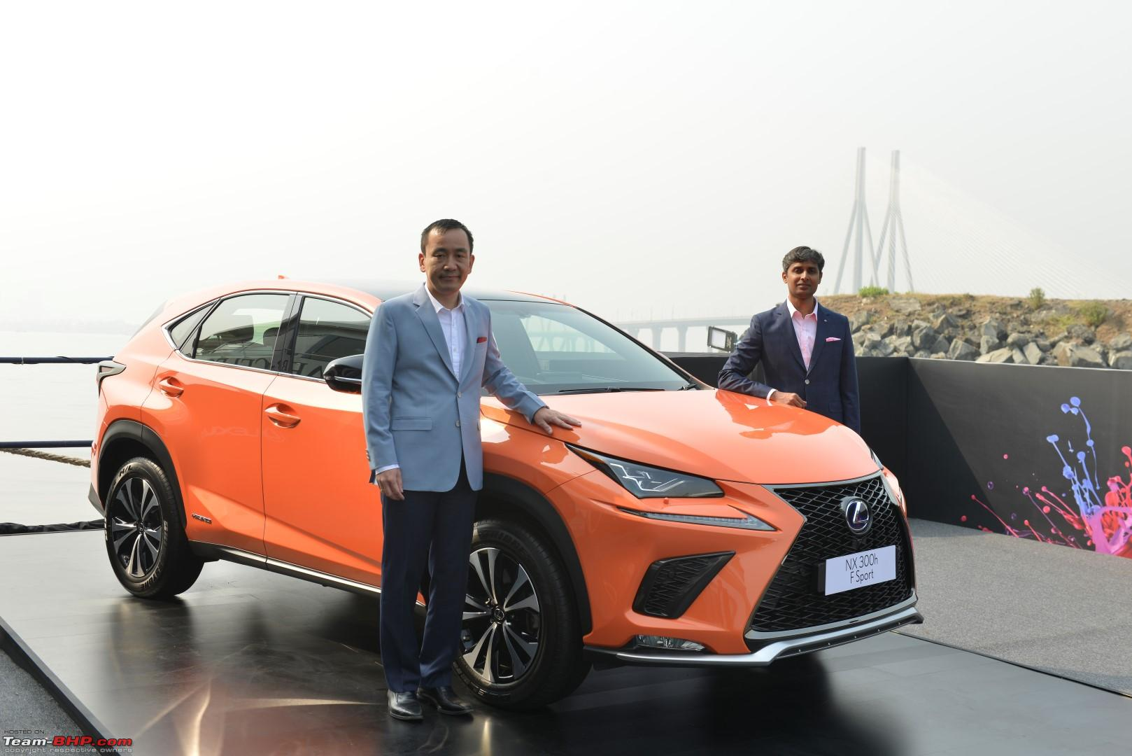 Lexus NX300h crossover might come to India  EDIT: Launched at 53 18