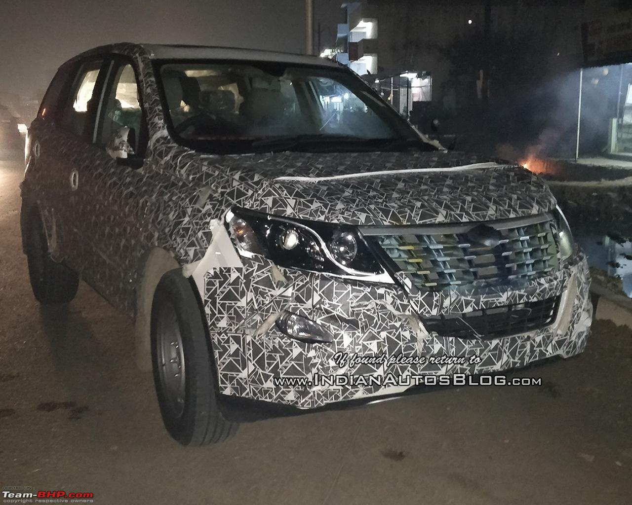 Mahindra Xuv500 Facelift Coming To Get Power Hike Edit Now