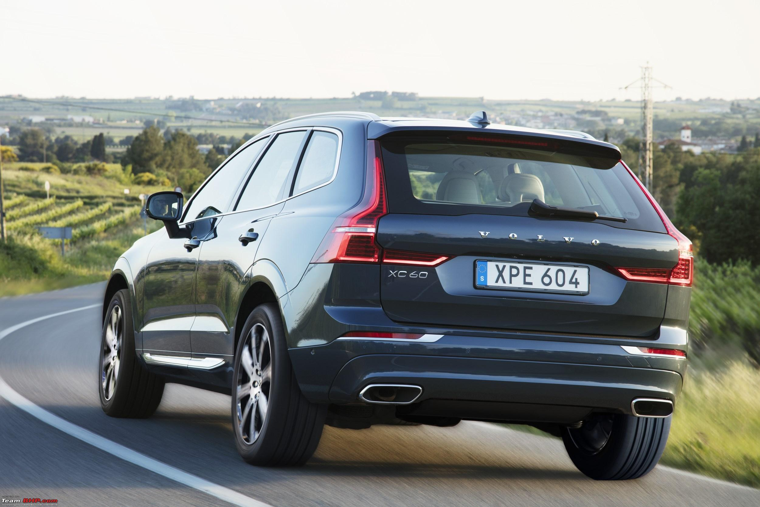 2017 volvo xc60 launched at rs lakh team bhp. Black Bedroom Furniture Sets. Home Design Ideas