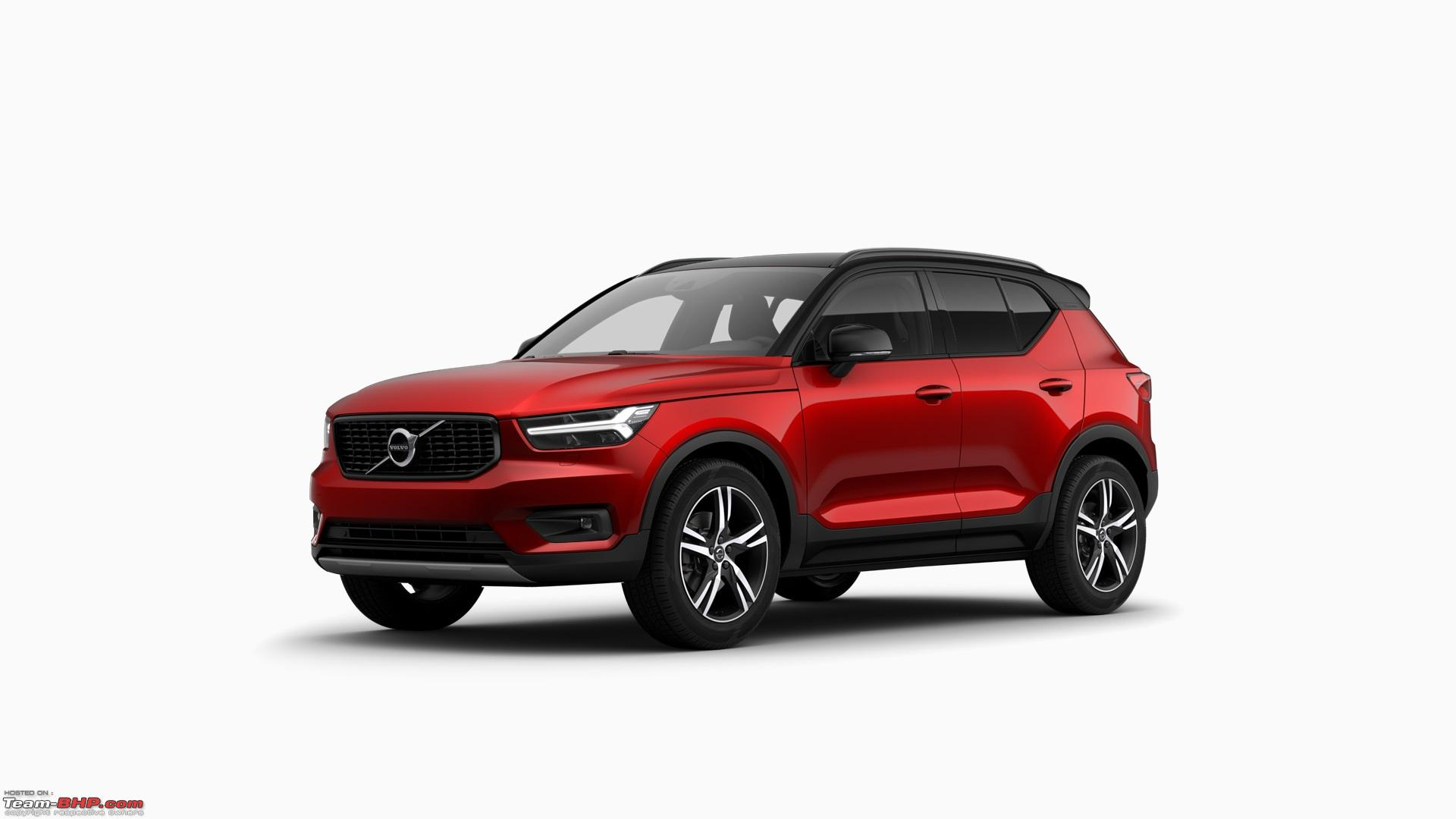 Volvo Xc40 Launch Date >> Volvo India lists the XC40 SUV on its website - Team-BHP