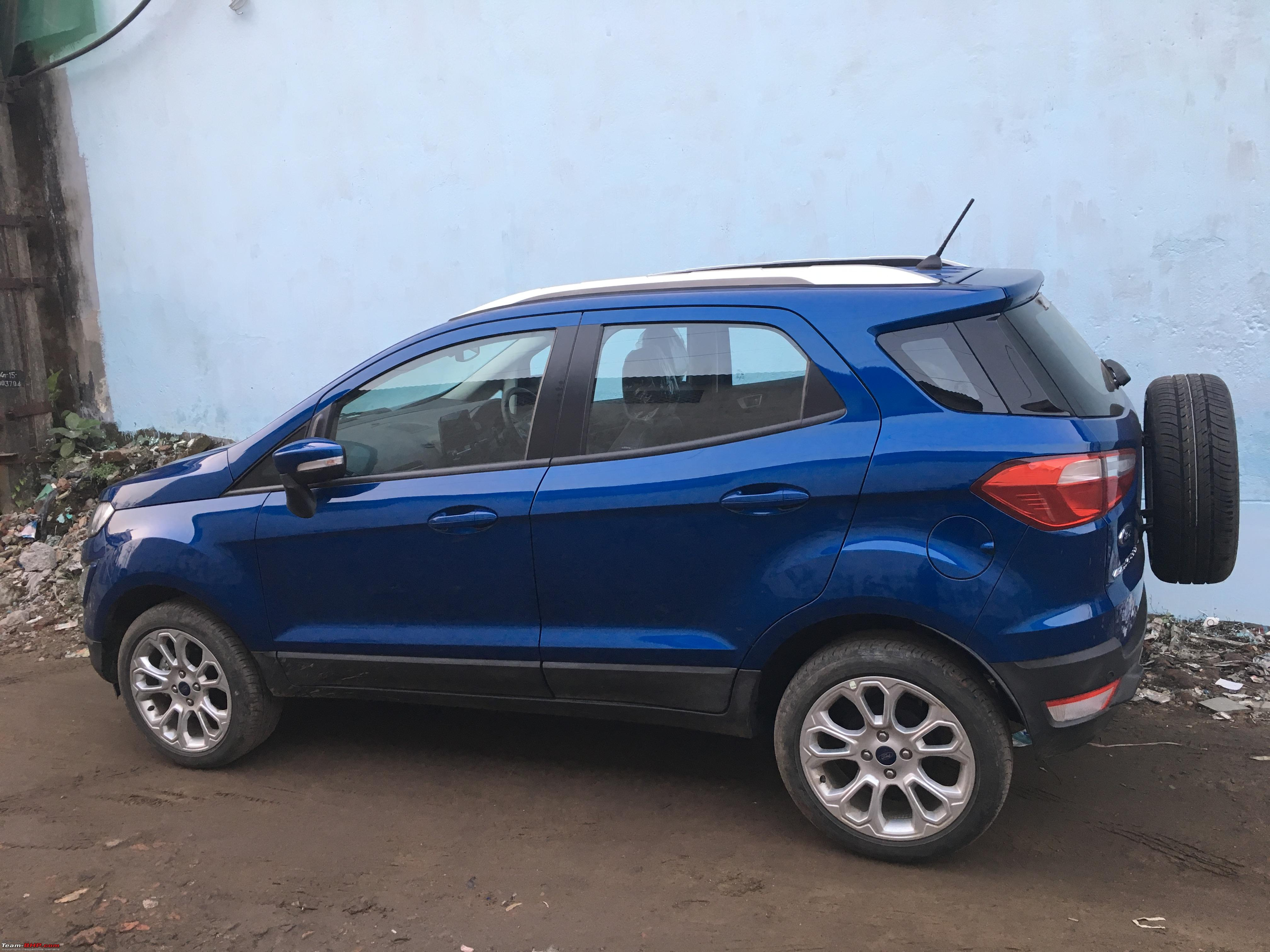 the 2017 ford ecosport facelift caught testing in india. Black Bedroom Furniture Sets. Home Design Ideas