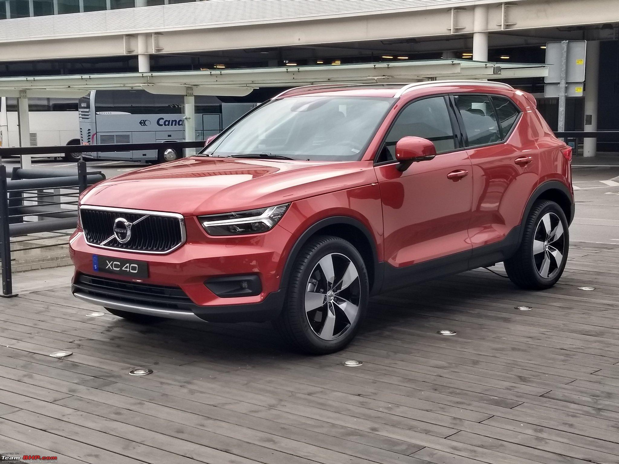 volvo india lists the xc40 suv on its website team bhp. Black Bedroom Furniture Sets. Home Design Ideas