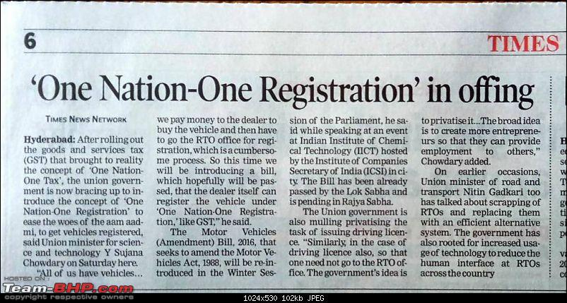Out-of-state cars can run on Karnataka roads for 1 year!-1513482779485.jpg