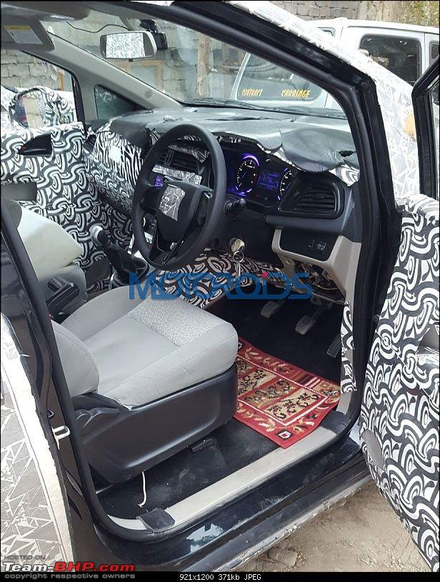 New Mahindra MPV caught testing in Chennai-mahindrau321interiorsspied3.jpg