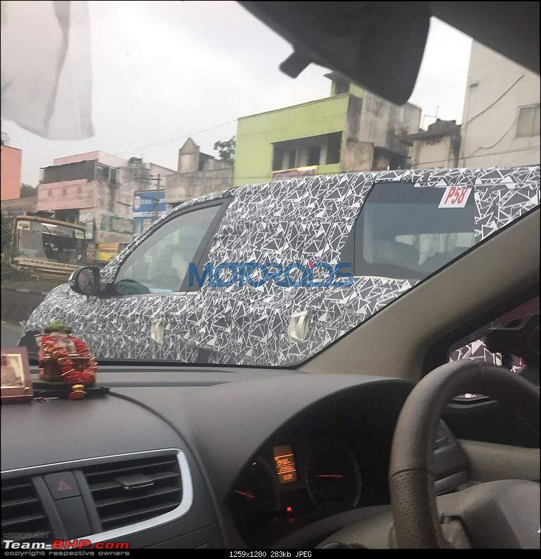 Mahindra XUV500 facelift coming, to get power hike. EDIT: Now launched @ Rs 12.32 lakhs-2018xuv500faceliftspyimages9.jpg