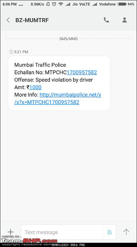 Mumbai Police's eChallans System for Traffic Violations. EDIT: Now Maharashtra-wide-screenshot_20171231180646872_com.android.mms.png