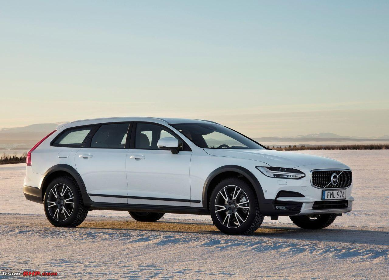volvo s90 v90 cross country and xc60 to be assembled locally team bhp. Black Bedroom Furniture Sets. Home Design Ideas