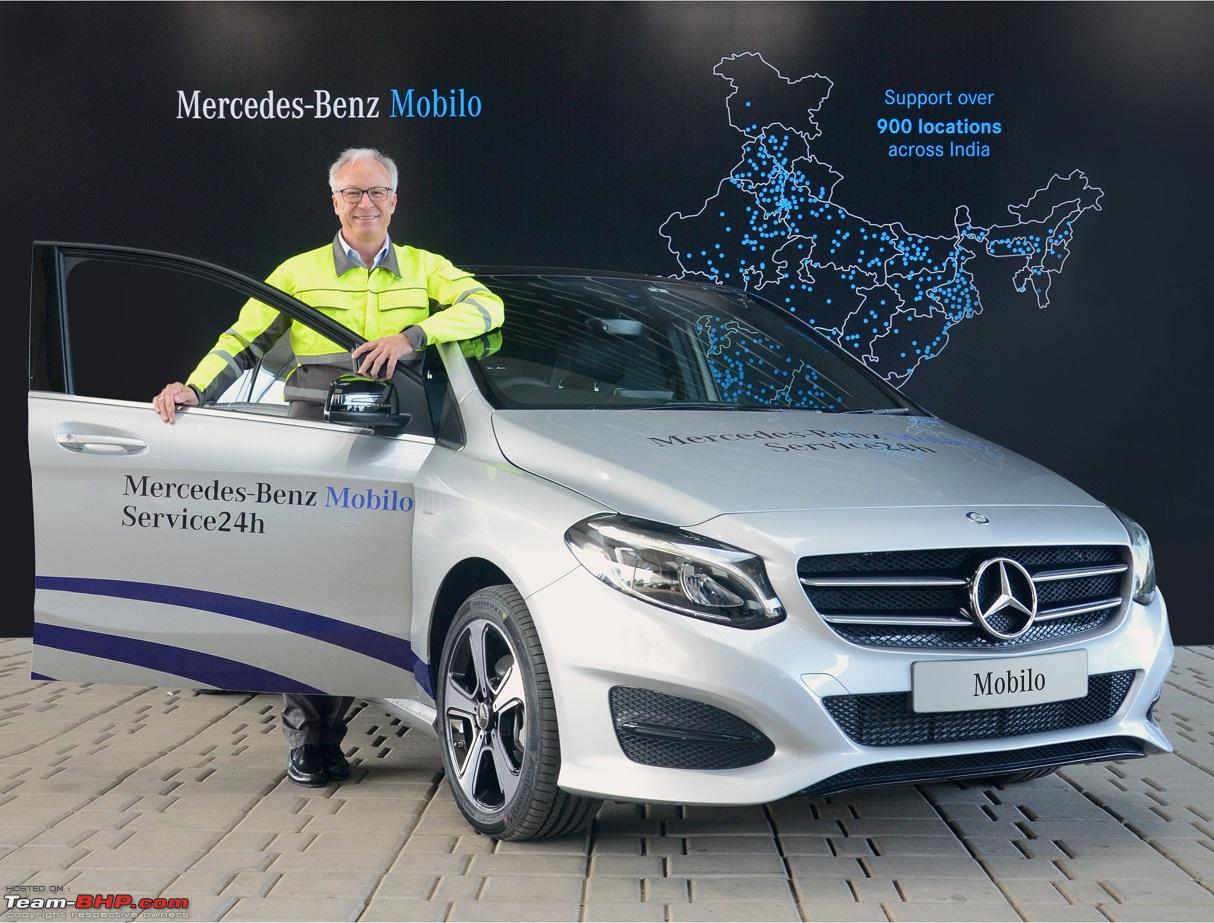 Mercedes Launches Mobilo 24x7 Roadside Assistance