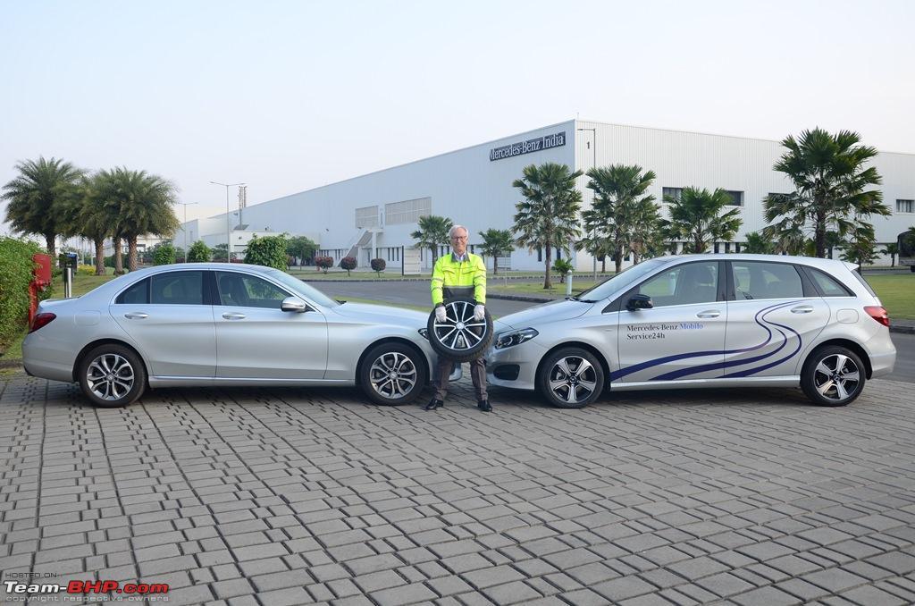 Team bhp mercedes launches mobilo 24x7 roadside for Mercedes benz roadside assist