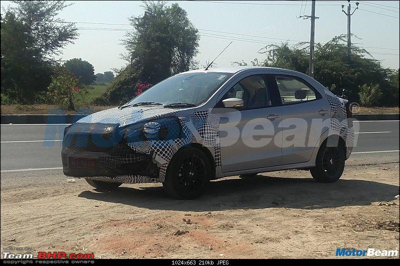 The Ford Figo & Aspire Facelifts. EDIT: Aspire launched at Rs 5.55 lakhs-2018fordaspiresideprofile.jpg