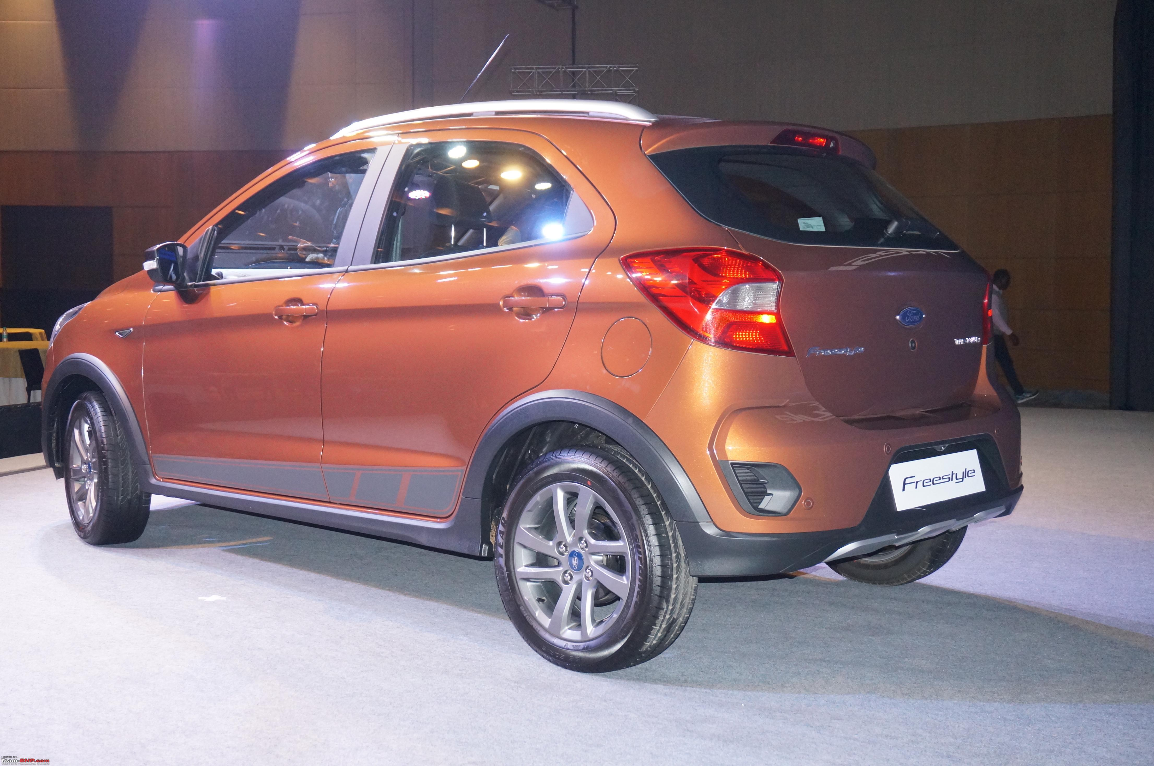 The Ford Freestyle Edit Launched Rs 5 09 Lakhs Team Bhp