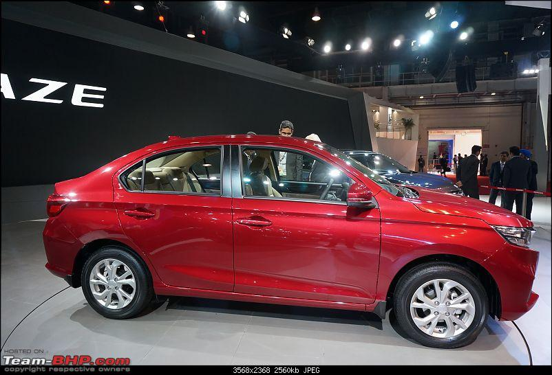 Honda Amaze @ Auto Expo 2018. Now launched at Rs 5.60 lakhs-sideviewdsc00449.jpg