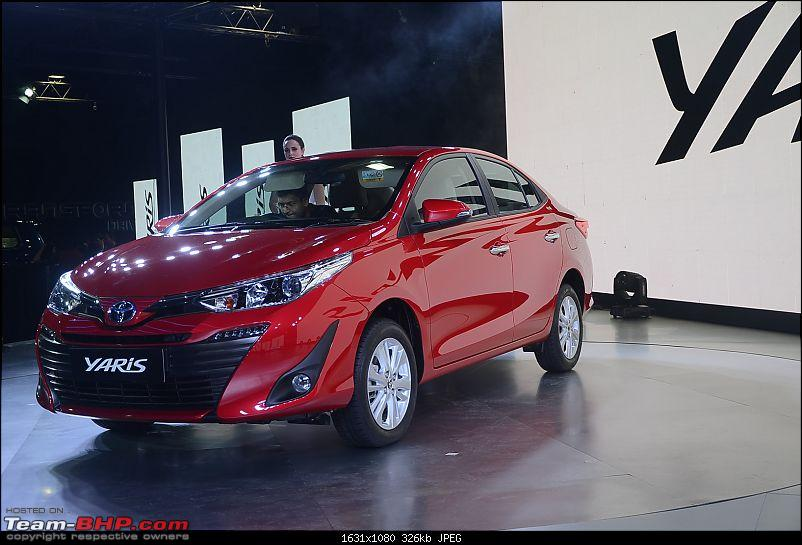 The Toyota Yaris. EDIT: Prices start at Rs. 8.75 lakh-2.jpg
