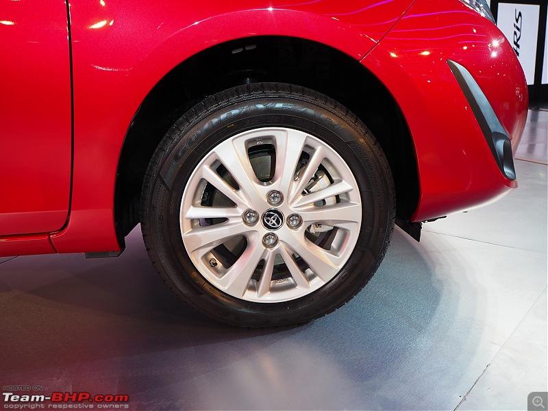 The Toyota Yaris. EDIT: Prices start at Rs. 8.75 lakh-p2070388.jpg