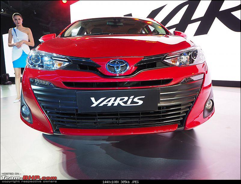 The Toyota Yaris. EDIT: Prices start at Rs. 8.75 lakh-p2070396.jpg