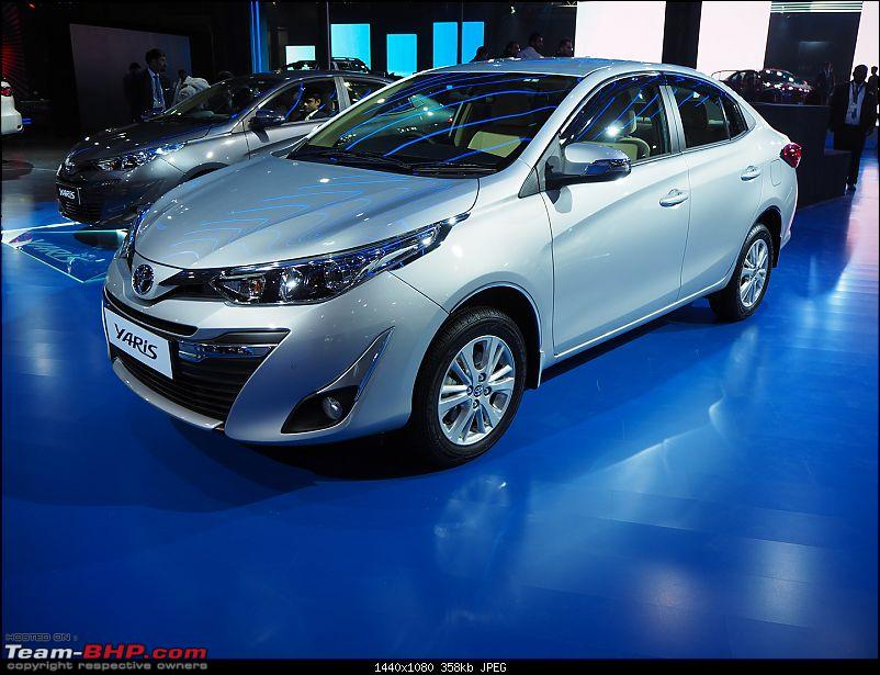 The Toyota Yaris. EDIT: Prices start at Rs. 8.75 lakh-p2070471.jpg