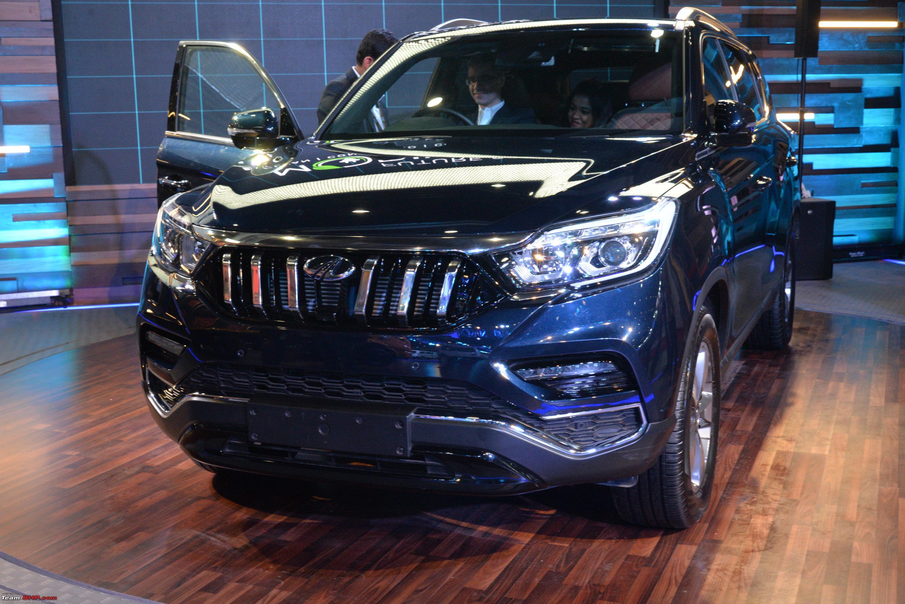 Mahindra Badged Rexton Auto Expo 2018 Team Bhp
