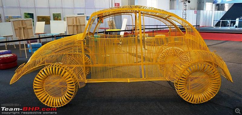 Cartist (automotive art) @ Auto Expo 2018-wirebeetle.jpg