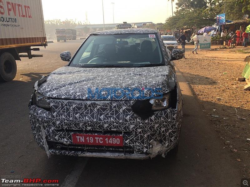 Mahindra starts testing Ssangyong Tivoli in India-mahindras201compactsuvspyimage1.jpg